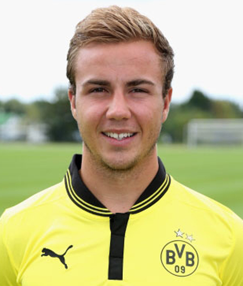 218f626f2e13d2 Mario Götze - Borussia Dortmund - Bundesliga  alle ...