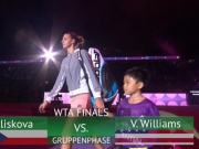 Pliskova fertigt Williams locker ab