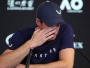 Emotionaler Auftritt - Andy Murray kündigt Karriereende an