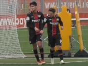 Doppelpacker Tokac dominiert mit Bayers U 19 Eintracht Frankfurt