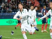 Caen nach 0:5 Letzter - Lockere Tore für St. Etienne
