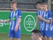 Herthas U 17 feiert gegen Viktoria den Einzug ins Pokal-Halbfinale