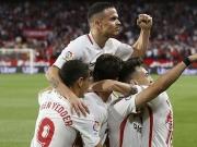Derbi Sevillano - Vazguez-Treffer zum Zungeschnalzen, Tello kanns auch