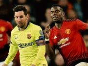 Mit Messi das Halbfinale im Blick - Barcelona empfängt ManUnited