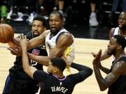 Durant läuft mit 38 Punkten heiß