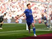 Barnes' Torpremiere sichert Leicester einen Punkt
