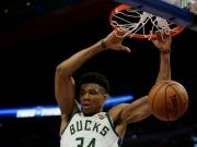 Antetokounmpo nicht zu halten: Bucks-Sweep gegen Pistons