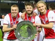 Ajax souverän - Meisterparty in Doetinchem
