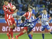 Girona steigt mit Torknaller ab - Alaves beendet Sieglos-Serie