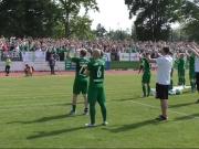 Noch ein Schritt bis zur Regionalliga - Chemie Leipzig siegt im Derby