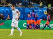 Messi vergibt Großchance - James & Co. ärgern Argentinien