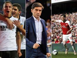 Valencia rollt erst los - Marcelino beeindruckt von Özil
