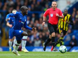 Weniger Druck für Chelsea - Fällt Kanté wegen Sarri aus?