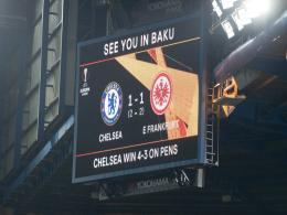 Wie das Europa-League-Finale in Baku landete