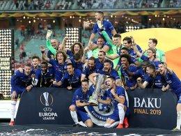 Chelsea gewinnt die Europa League: 4:1 gegen Arsenal