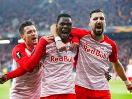 Salzburg ohne Gnade: 4:0 gegen Brügge