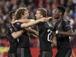 Slavia trotzt Sevilla - Krals kurioser Treffer