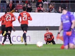 3:1 für Rennes! Arsenal mit dem Rücken zur Wand