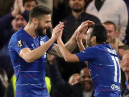 Giroud auf Pedro: Zwei Tunnel bahnen den Weg zu Chelseas 3:0