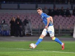 3:0 gegen RB! Neapel marschiert in Richtung Viertelfinale