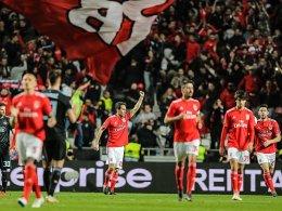 Benfica spät weiter: Jonas eröffnet, Grimaldo vollendet