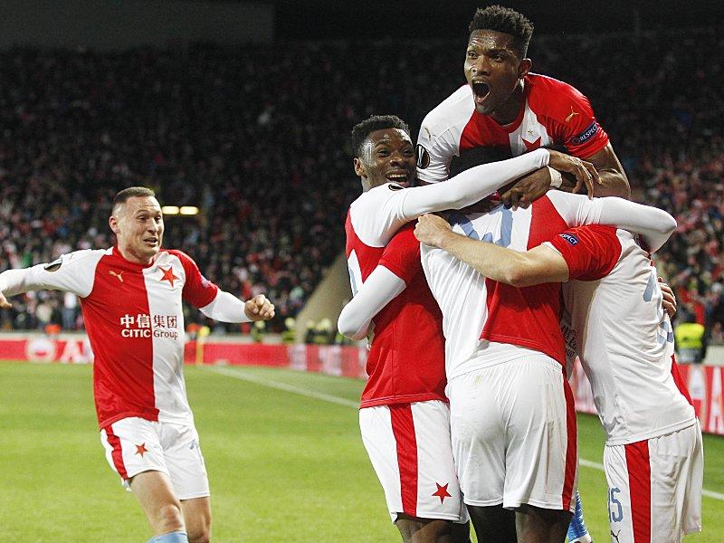 Slavia – Sevilla Image: FC Sevilla 4:3, Europa League, Saison 2018