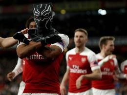 3:0 nach 1:3: Arsenal dankt Maskenmann Aubameyang