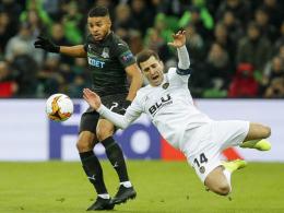 In letzter Sekunde: Guedes bringt Valencia ins Viertelfinale