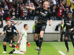 Kampf und Glück: Rode schießt Frankfurt ins Halbfinale