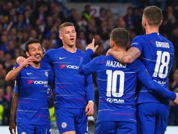 Pedro-Gala mit Slapstick-Note: Chelsea wackelt nur kurz