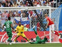 5:0! Drei Joker-Tore sorgen für russischen Traumstart