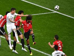 Gimenez erlöst Uruguay - und Suarez