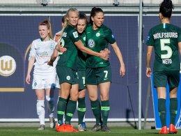 Wolfsburg schraubt im Fernduell an der Tordifferenz