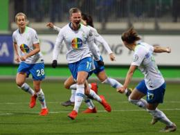 Popp eröffnet bei Wolfsburgs klarem Sieg