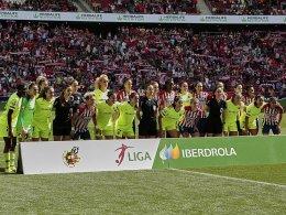 Frauenfußball-Weltrekord: Über 60.000 bei Atletico - Barça