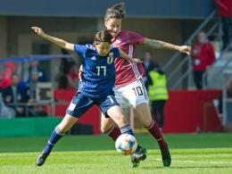 Drei Torwartfehler: DFB-Frauen nur 2:2 gegen Japan
