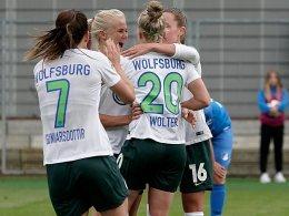 Double perfekt: Wolfsburg ist auch Meister