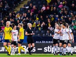 Zweites Spiel, zweiter Sieg: 2:1-Erfolg in Schweden