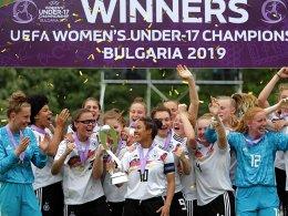 Nach Elfmeterkrimi: U-17-Juniorinnen sind Europameister!