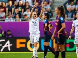 Dreimal Hegerberg - Lyon zum vierten Mal in Serie