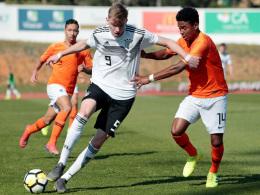 U 17 verliert auch zum Abschluss gegen die Niederlande