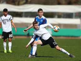 Nur 3:3 gegen Island: EM auch für U 17 in Gefahr