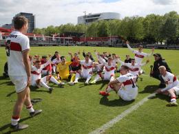 VfB Stuttgart ist Staffelmeister - Heißes Finale im Westen