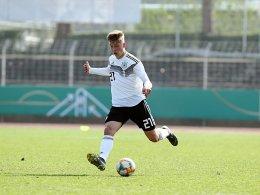 Deutsche U 17 siegt - und hofft auf die EM