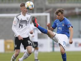 Deutschland verspielt Führung gegen Italien