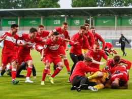 Stuttgart dank Elfmeter-Killer Hornung im Finale