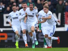 Rückkehr geschafft: Karlsruhe steigt in die 2. Liga auf