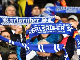 Münster überlässt dem KSC den Heimblock K