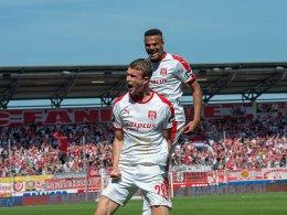 3:0 - Halle dominiert ersatzgeschwächte Löwen