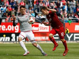 Ademi und Baumann schießen Kickers auf Rang fünf
